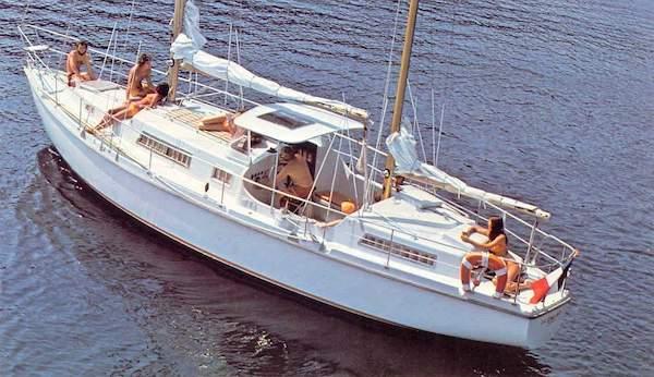 SailboatData com - EUROS 41 (AMEL) Sailboat
