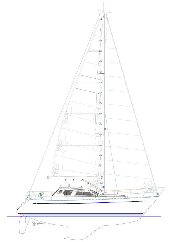 NAUTICAT 321 drawing