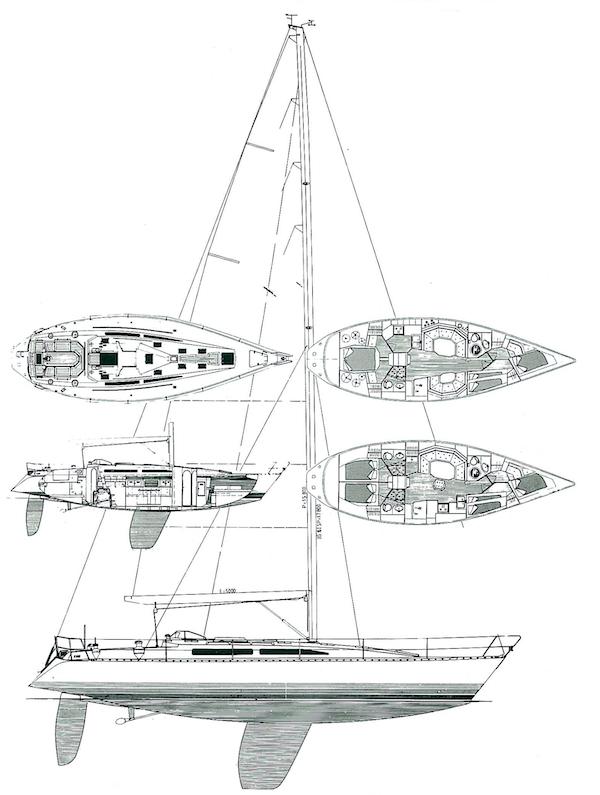 X-452 drawing