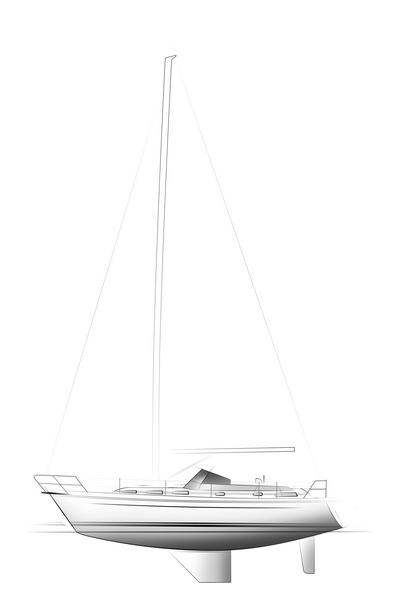C-YACHT 1100 drawing