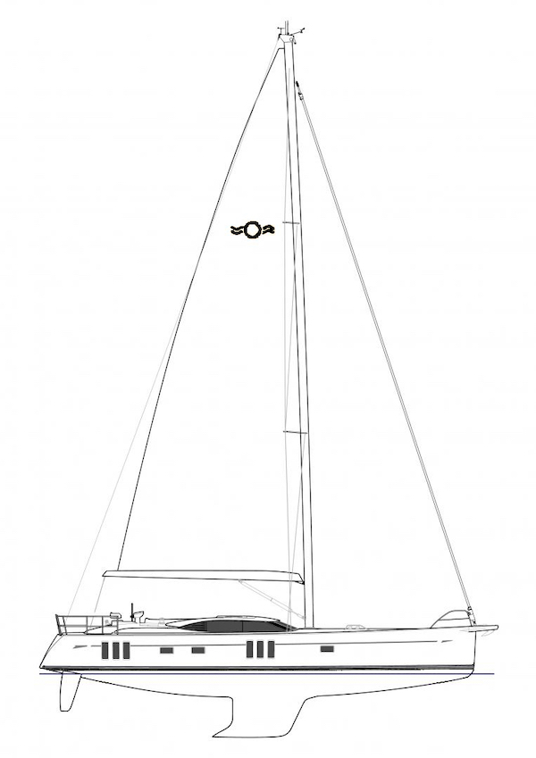 OYSTER 565 drawing