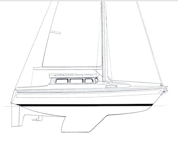 SIRIUS 31 M drawing