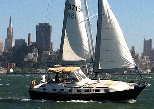 Sailboatdata Com Lancer 40 Sailboat For Sale