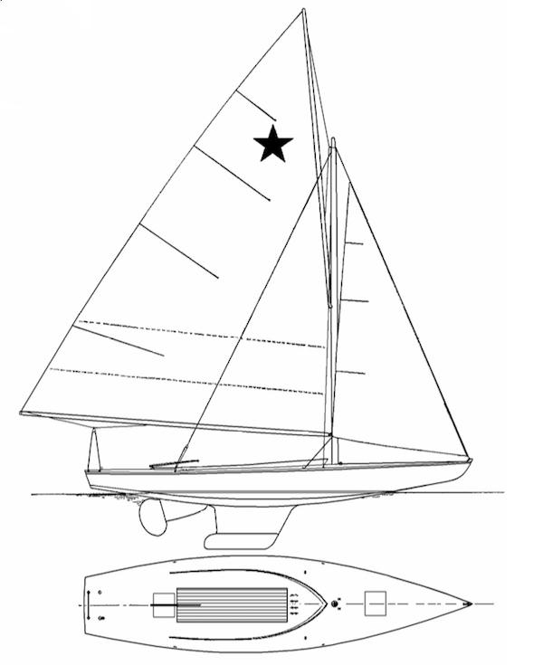 STAR (ORIGINAL 1911) drawing