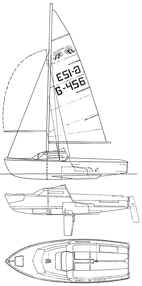 517 drawing on sailboatdata.com