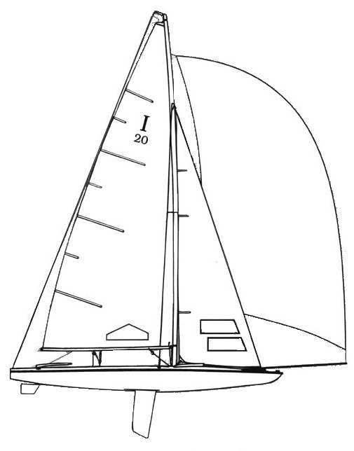 INLAND 20 SCOW drawing