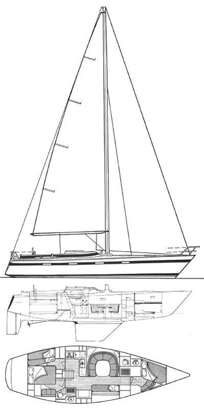 KALIK 44 drawing
