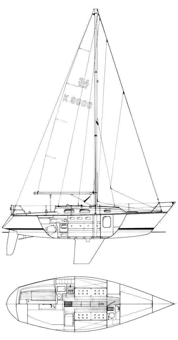 OOD 34 (CONTESSA) drawing