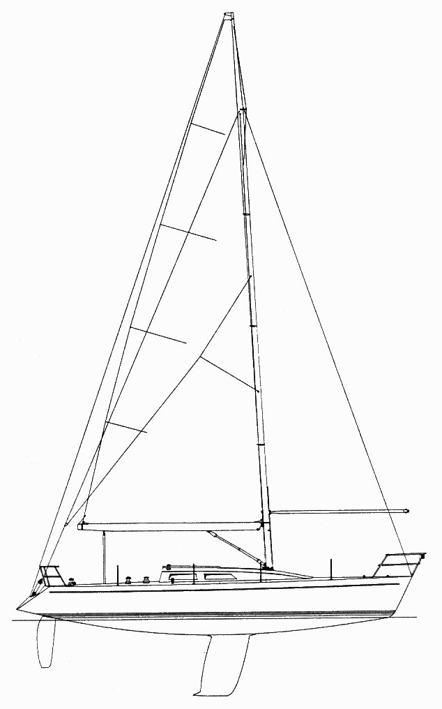 Tripp 40 Mk II Fractional  on sailboatdata.com