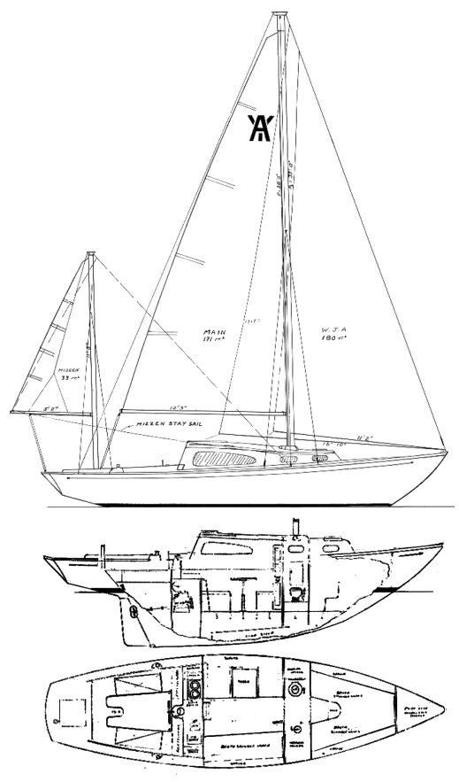 ACADIAN 30 YWL (PACESHIP) drawing