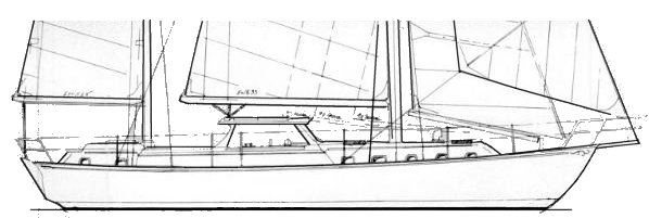 AEGEAN 51 drawing