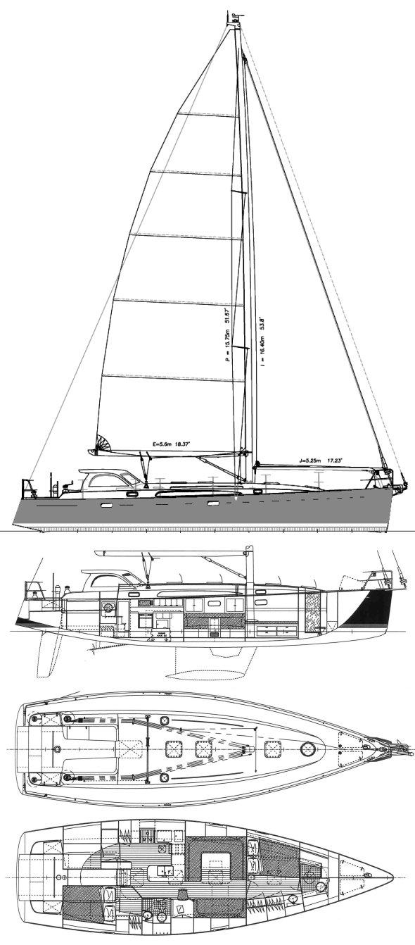 AERODYNE 47 drawing