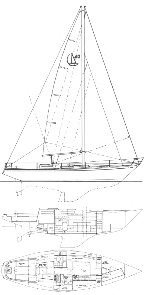 ALC 40 (LE COMTE) drawing