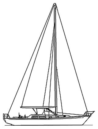 ALDEN 45 drawing
