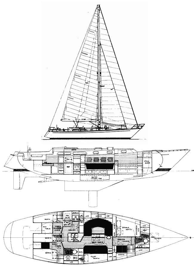 ALDEN 54 drawing
