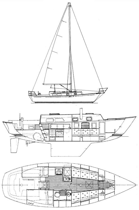 ALOHA 32 drawing