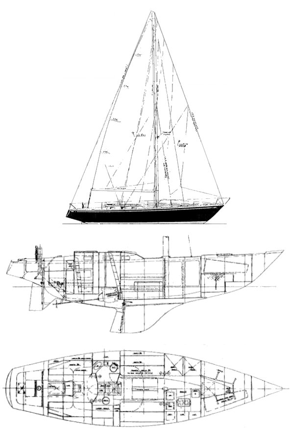 Alpa 12.7 drawing on sailboatdata.com