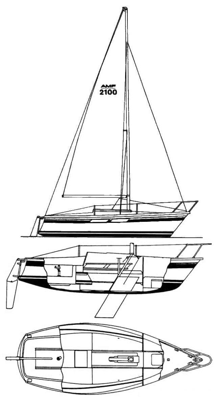 AMF 2100 drawing