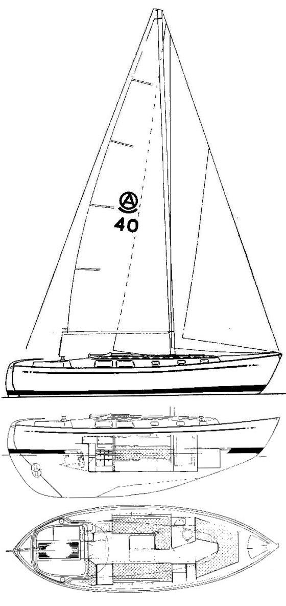 AMIGO 40 drawing