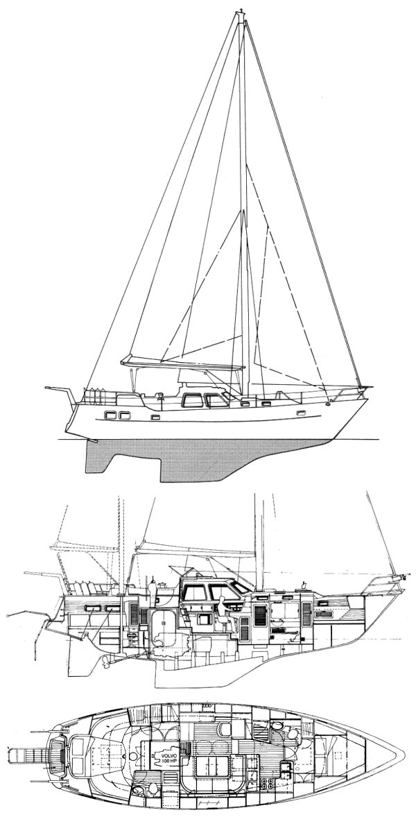 AMPHITRITE 45 MS (WAUQUIEZ) drawing