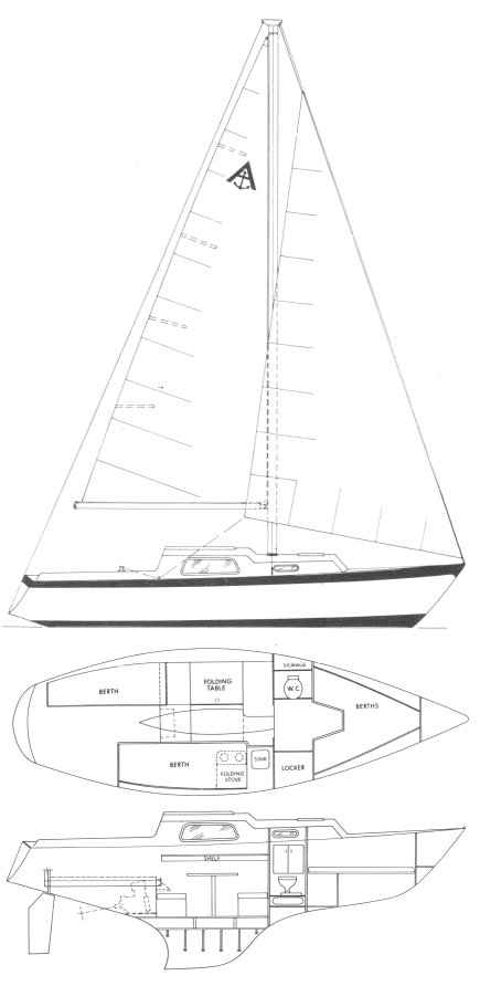 ANNAPOLIS 26 (HOLMES) drawing