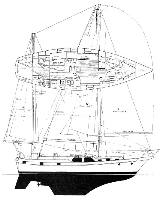 ANTIGUA 44 drawing