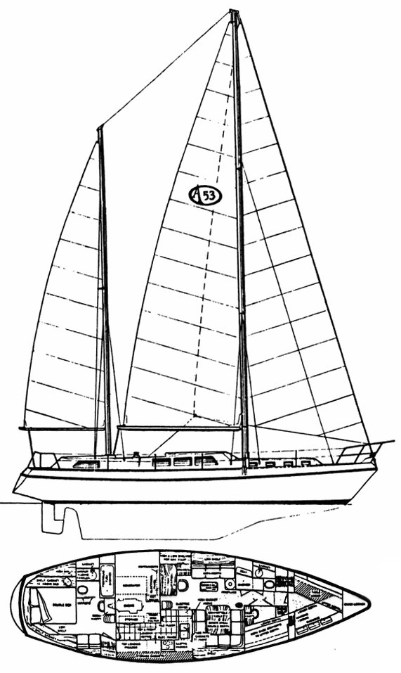 ANTIGUA 53 drawing