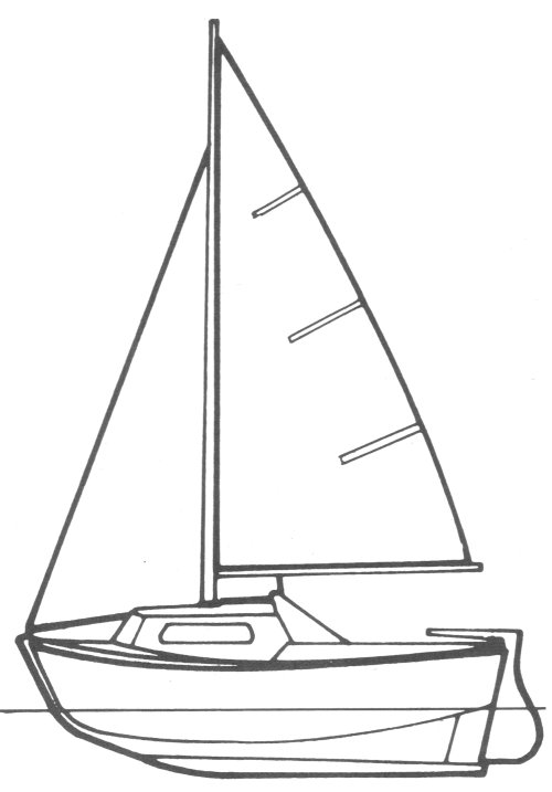 Apollon (Kirie) drawing on sailboatdata.com