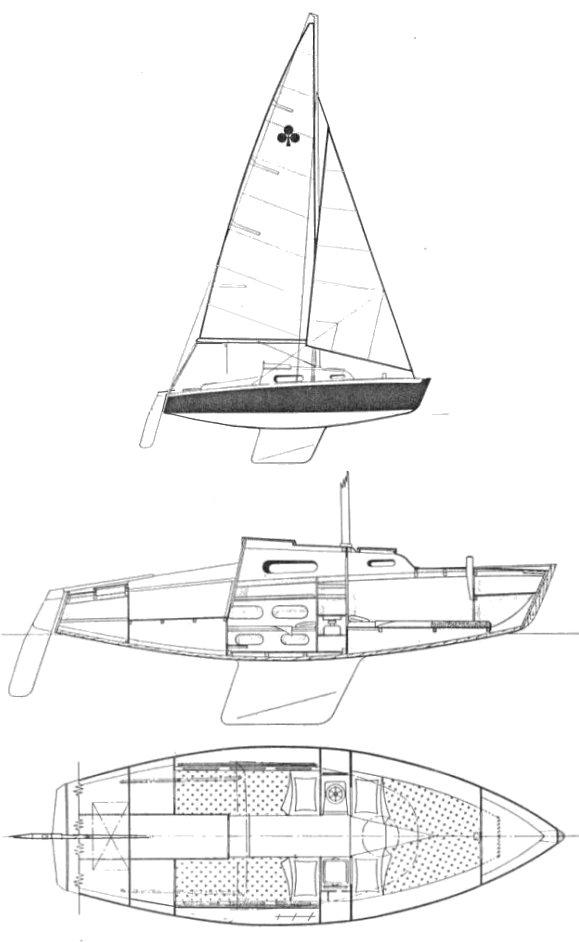 AS DE TREFLE drawing