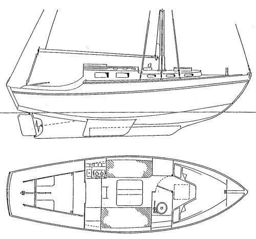 ATHENA 26 drawing