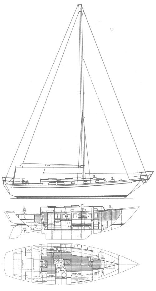 AURORA 40 drawing