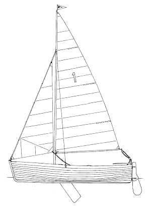 Axe OD drawing on sailboatdata.com
