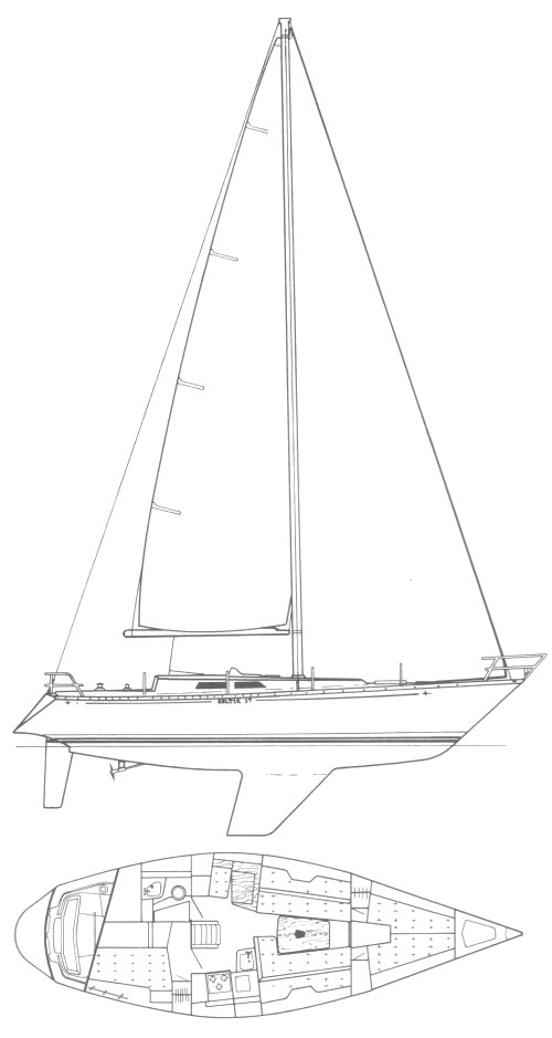 BALTIC 37 drawing