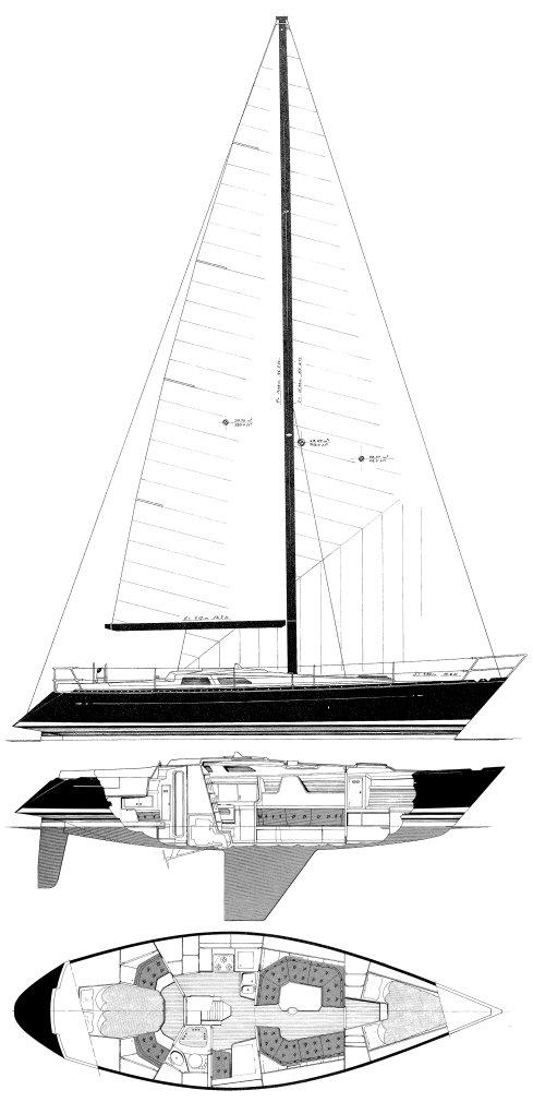 BALTIC 38 DP drawing