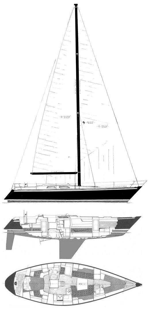 BALTIC 42 DP drawing