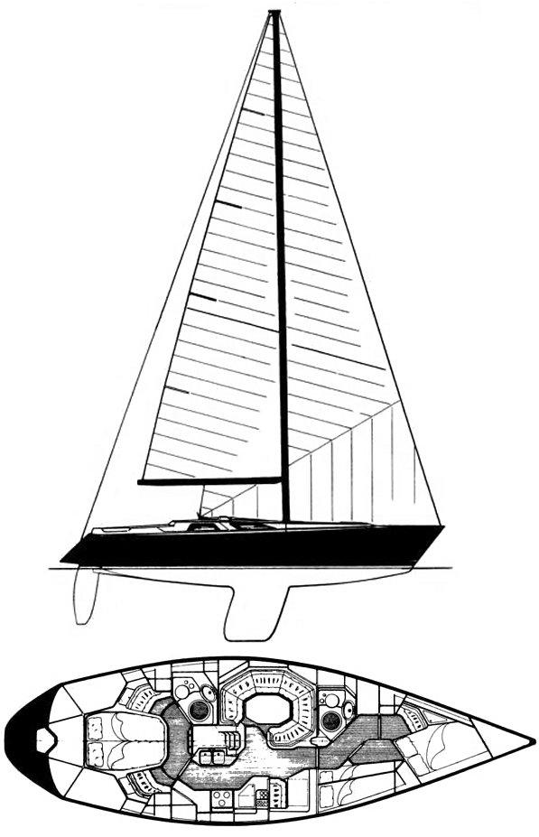 BALTIC 43 drawing