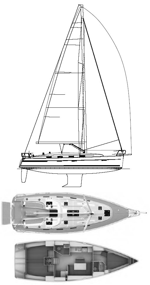 Bavaria Ocean 40 (Farr) on sailboatdata.com