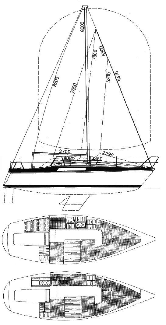BAVARIA 707 drawing