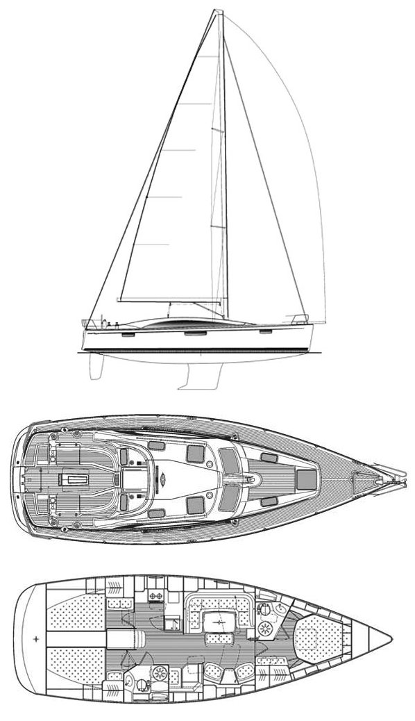 BAVARIA VISION 46 drawing