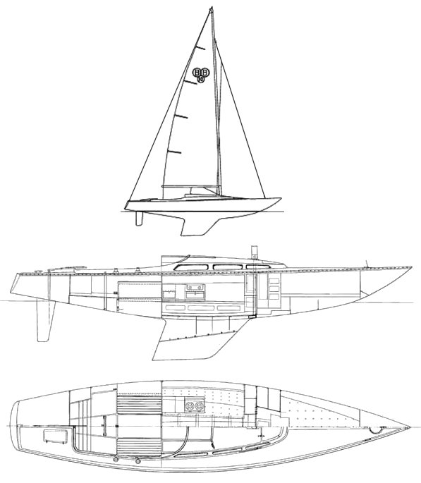 BB-10 drawing on sailboatdata.com