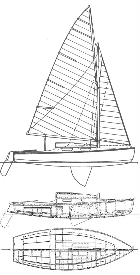 Belouga (Cornu) drawing on sailboatdata.com