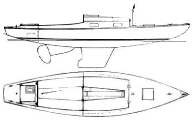 BLANCHARD KNOCKABOUT SR. drawing