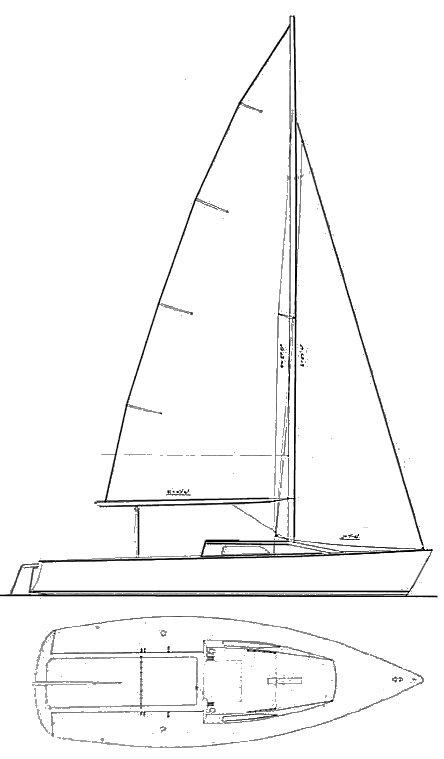 BLAZER 23 (PETERSON) drawing