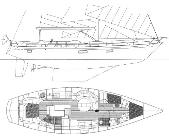 BLUEWATER 476 drawing
