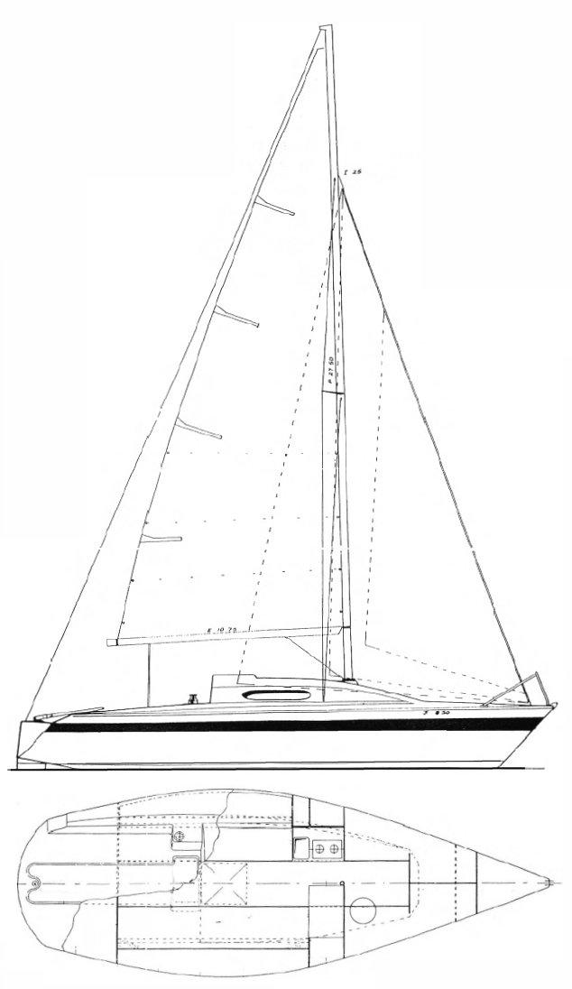 BOLERO 25.5 drawing