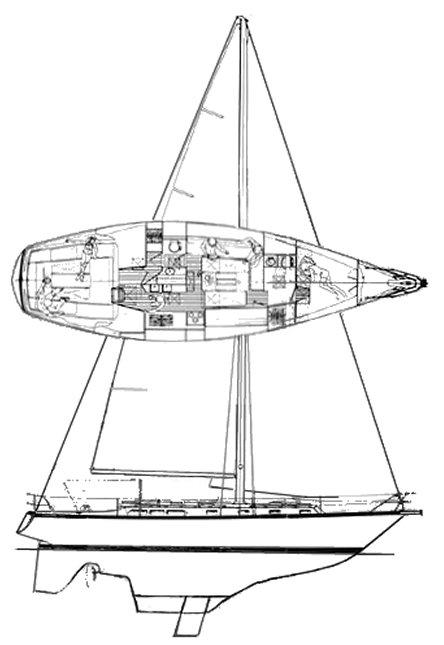 Bombay Explorer 44 photo on sailboatdata.com