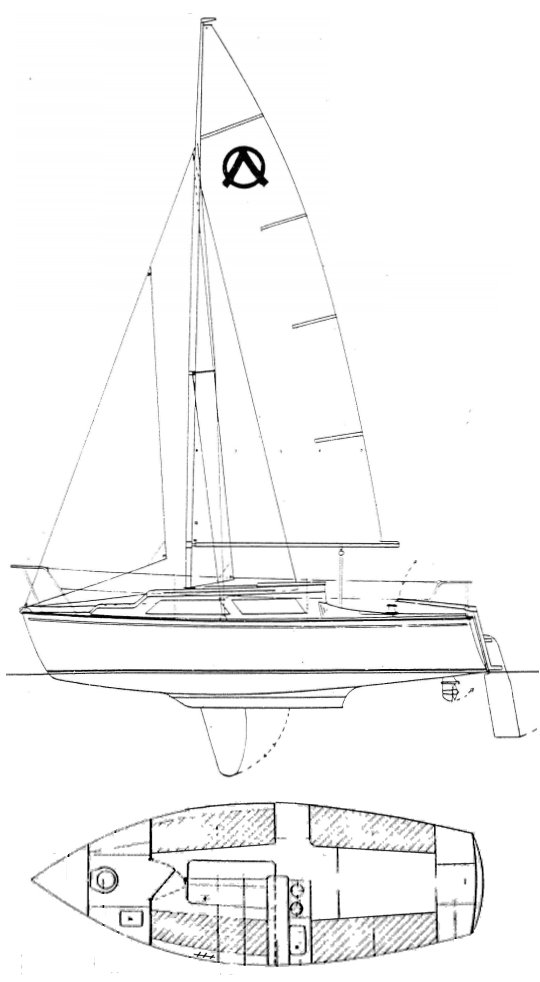 BONITO 22 drawing