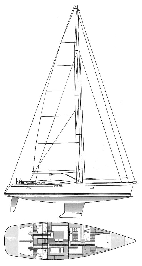 BORDEAUX 60 drawing