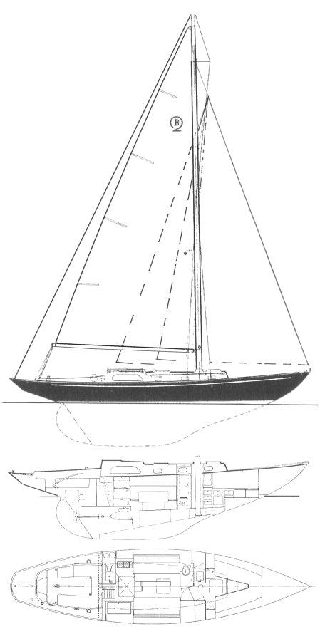BOUNTY II drawing