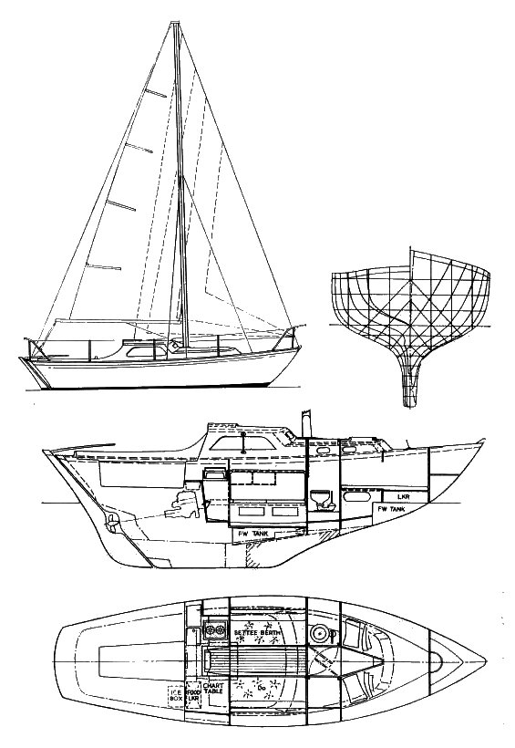 BOWMAN 26 drawing